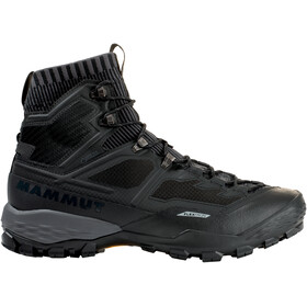 Mammut Ducan Knit High GTX Shoes Herre black-titanium